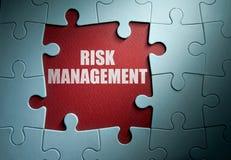 Soluzione della gestione dei rischi immagini stock libere da diritti