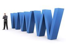 Soluzione di Web Fotografia Stock