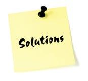 Soluzioni Immagini Stock