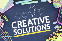 Soluzioni creative di affari Immagine Stock Libera da Diritti