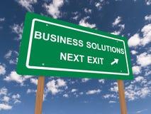 Soluzioni di affari Immagini Stock