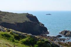 Solva, южный уэльс Стоковое фото RF