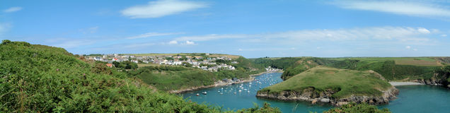 Solva Harbour Stock Image