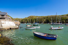 Solva Wales UK. Solva in St Brides Bay in Pembrokeshire Coast National Park Wales UK Europe royalty free stock photos