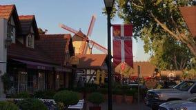 Solvang,加利福尼亚,美国镇  影视素材