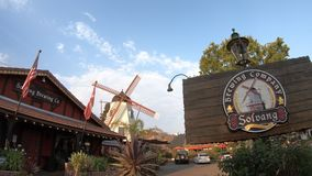 Solvang Brewing Company stock footage