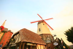 SOLVANG, CALIFORNIA, USA - August 16, 2009 Stock Image