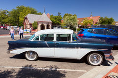SOLVANG, CALIFORNIA/USA - AUGUST 9 : Old Chevrolet Parked in Sol Stock Images