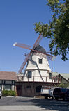 Solvang Danish Windmill Royalty Free Stock Image