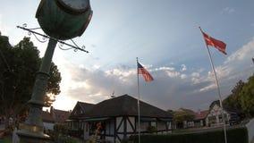 Solvang Kalifornia zegar zdjęcie wideo