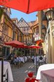 Solvang stylu miasto zdjęcia royalty free