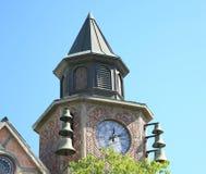Solvang, torre de reloj de California Imagenes de archivo