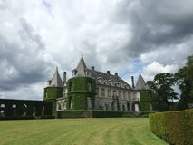 Solvay castle in La Hulpe, Belgium. Stock Photography