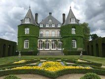 Solvay castle in La Hulpe, Belgium. Stock Image