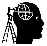 Solving Mental Problems Royalty Free Stock Photo