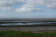 Solway kust Arkivfoto