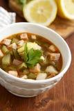 Solyanka soup Royalty Free Stock Image
