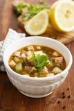 Solyanka soup Stock Photo