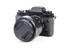 4 som ar redan varaa den digitala kameran, har isolerat använda vita år Fotografering för Bildbyråer