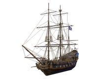 som bakgrund är blå, kan fartygfartyg klubba mörka etc Royaltyfri Bild