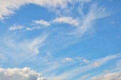 som bakgrund är kan föreställa använd skytextur Royaltyfria Bilder