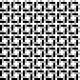 som bakgrund buktade, geometriska mönsan gjorda rasterlinjer perfekt vanligt seamless för att använda Royaltyfri Foto