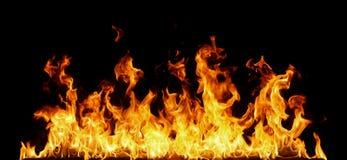 som bakgrund flamm den underbara väggen Arkivfoto