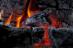 som bakgrund flamm den underbara väggen Royaltyfria Foton
