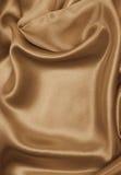 som bakgrund smooth eleganta guld- silk I tonad sepia retro Fotografering för Bildbyråer
