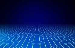 som bakgrundsbrädet kan circuit bruk Tekniskt avancerad teknologibakgrundstextur modell royaltyfri illustrationer