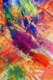 som bakgrundskanfas målade Royaltyfri Foto