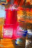 som bakgrundskanfas målade Royaltyfri Fotografi