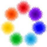 som blommor inramniner cirkeln Royaltyfria Bilder