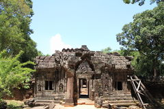 Som de TA en Angkor Imagen de archivo libre de regalías