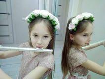 Som delicado das flautas imagens de stock royalty free