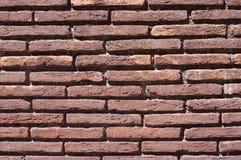 som den gammala väggen för bakgrundstegelsten Royaltyfri Fotografi