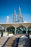 Som den Syakirin moskén Arkivbild