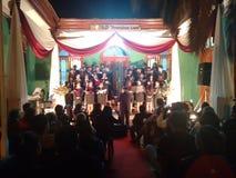 Som do clássico da música do coro Foto de Stock Royalty Free