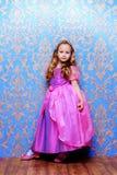 Som en princess royaltyfria bilder