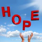 som fånga hope, letters att önska för tecken vektor illustrationer