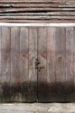 som gammala paneler för bakgrundsgrunge använt trä arkivbild