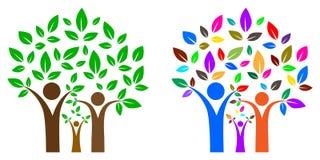 som kan fördubbla, lätt tar tomma grupperade individuellt name nödvändiga bort för familjmapp ramar etiketter dem treevektorn dig Royaltyfri Bild
