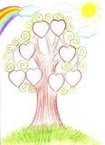 som kan fördubbla, lätt tar tomma grupperade individuellt name nödvändiga bort för familjmapp ramar etiketter dem treevektorn dig Arkivfoton