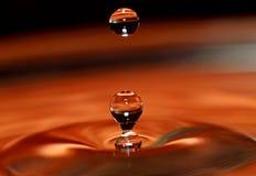 som möjlig färgstänk för bakgrund som använder vatten Royaltyfri Foto