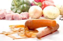 som morötter gjorde ren mat till bruk Royaltyfri Foto