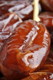 Som organic and sweet date ready to eat Royalty Free Stock Photos
