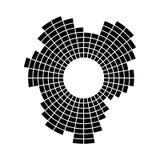 Som ou onda audio ilustração do vetor