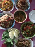 Som Tam food cuisine from Thailand Royalty Free Stock Photography