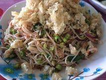 Som Tam. Is green papaya salad cuisine from Thailand Stock Photos