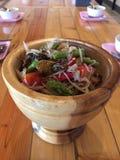 Som Tam is green papaya salad Stock Photography